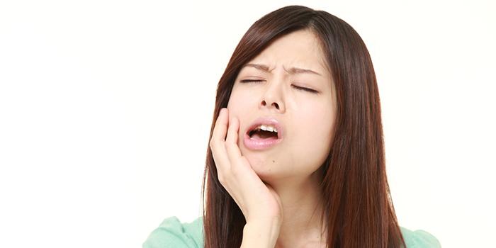 奥歯が腫れて痛い