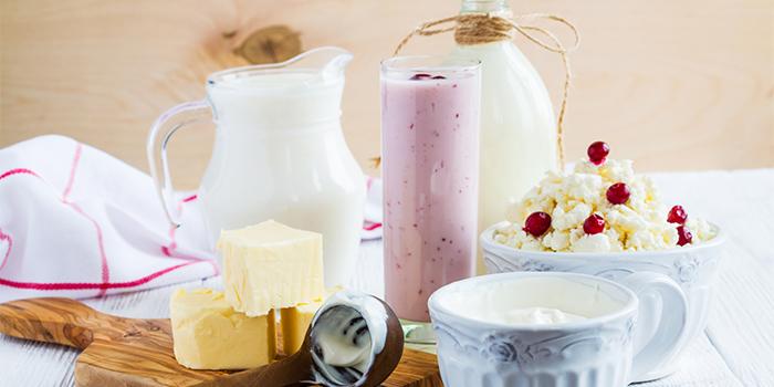 チーズや牛乳など乳製品