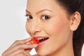 フッ素を多く含むイチゴやサクランボ