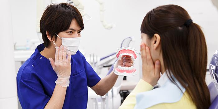 酸蝕歯の進行を防ぐ