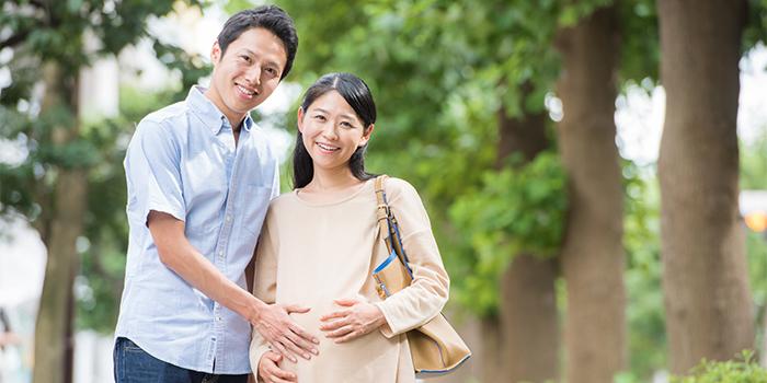 男性と妊婦